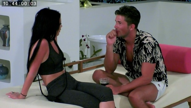 Ex On The Beach: Jordan Davies and Chrysten Zenoni 20 September
