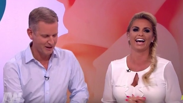 Katie Price and Jeremy Kyle on Loose Women, ITV 19 September