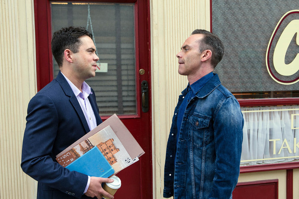 Corrie, Todd and Billy, Wed 28 Sep