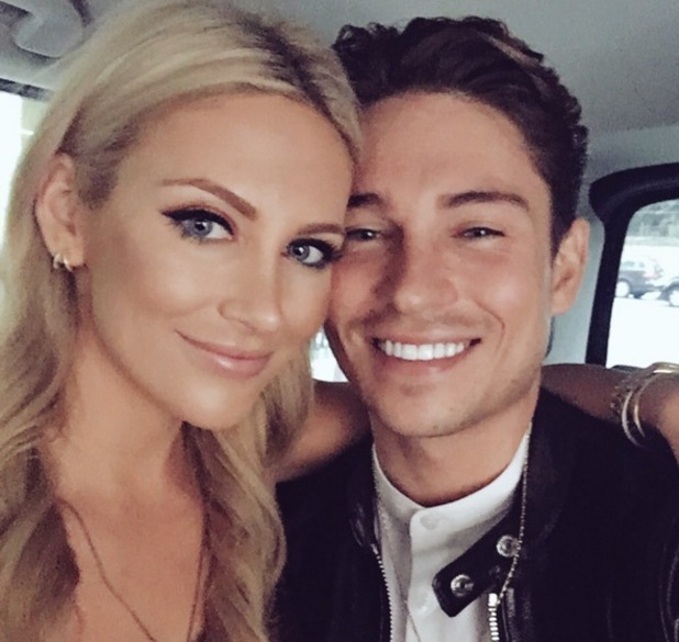 Stephanie Pratt and Joey Essex selfie, Twitter 16 September