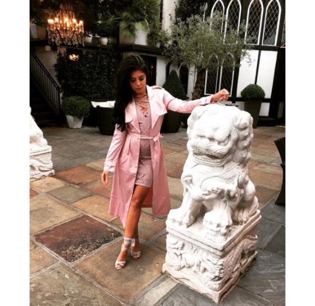 Love Island's Cara de la Hoyde wears Missy Empire, Instagram, 21 September 2016