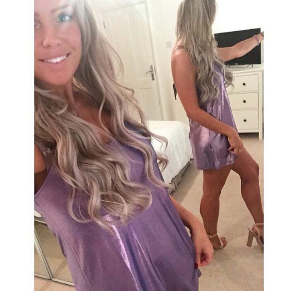 TOWIE star Chloe Meadows shows off her princess-inspired hair, Instagram, 20 September 2016