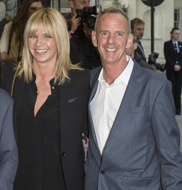 Zoe Ball, Norman Cook, 'Man Up' film screening, London, Britain - 13 May 2015
