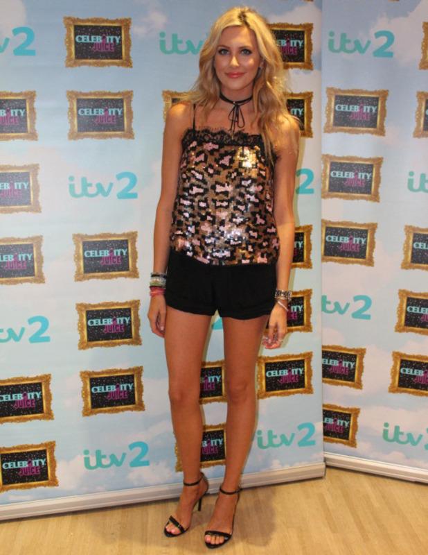 Stephanie Pratt appears on Celebrity Juice, London, 22 September 2016