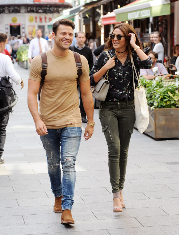 Mark Wright and Michelle Keegan, London, Sept 2016