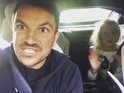 Peter Andre, Junior and Princess dancing, Sept 16
