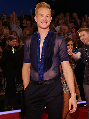 Strictly Come Dancing 2016 at Elstree Studios Greg Rutherford