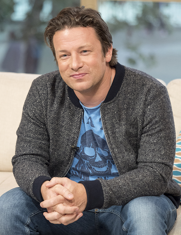 'This Morning' TV show, London, UK - 20 Sep 2016 Jamie Oliver