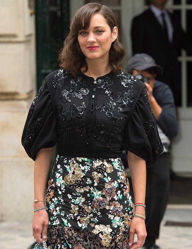 Paris Fashion Week Haute Couture Autumn/Winter 2016/17 - Christian Dior - Arrivals Marion Cotillard
