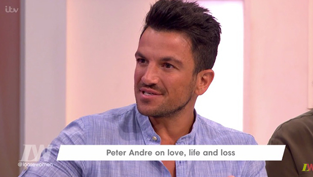 Peter Andre talks about wanting a baby boy on Loose Women 23 Sept 2016