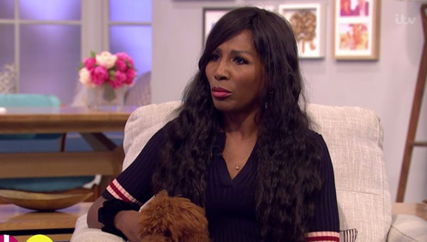 Sinitta appears on ITV's Lorraine to talk about X Factor and Brad Pitt 2016