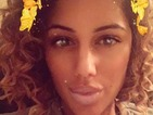 Love Island's Malin Andersson shows off her 80s-inspired corkscrew curls on Snapchat
