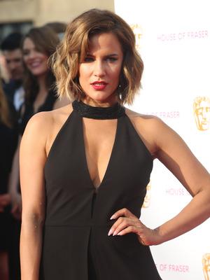 Caroline Flack at the BAFTAs 2016 5 August