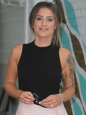 Katie Waissel at ITV Studios, London 24 August