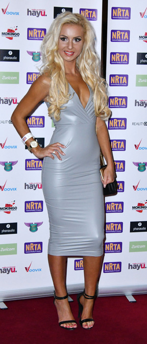 EOTB star Holly Rickwood attends the National Reality Television Awards, London, 29 September 2016