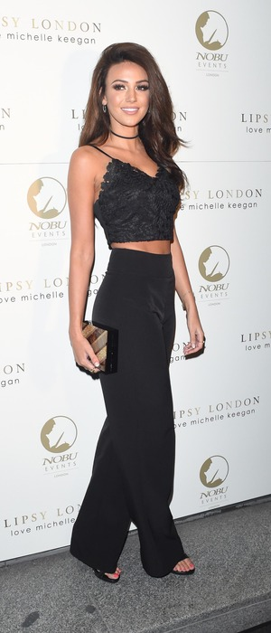 Our Girl star Michelle Keegan attends Lipsy launch party, London, 28 September 2016