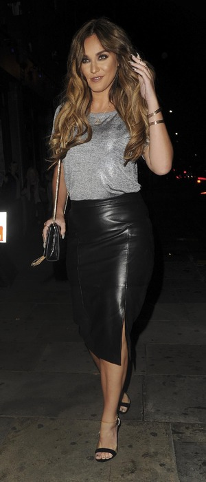 Geordie Shore star Vicky Pattison attends the Cally Jane Beech x Solewish collection launch party at JuJu, London, 27 September 2016