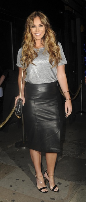 Former Geordie Shore star Vicky Pattison attends the Cally Jane Beech x Solewish collection launch party at JuJu, London, 27 September 2016