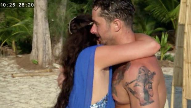 Ex On The Beach: Charlotte Dawson and ex Alex 28 September
