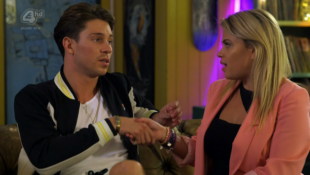 Nadia Essex and Joey Essex on Celebs Go Dating, E4 12 September
