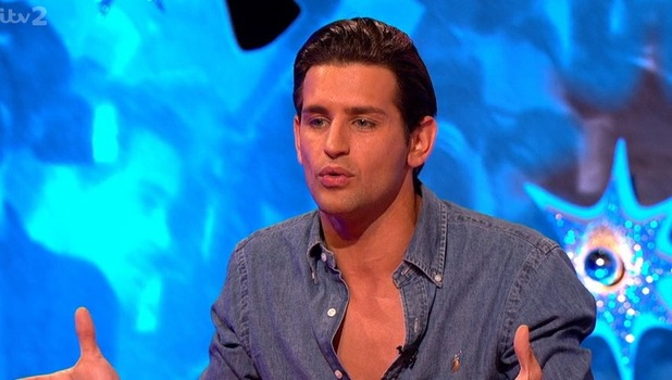 Ollie Locke on Celebrity Juice, ITV 29 September