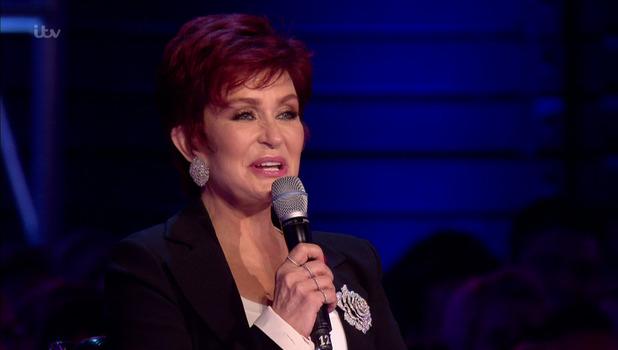 Sharon Osbourne on The X Factor, ITV 25 September