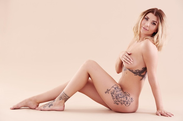 Olivia Buckland's naked shoot with Reveal, 27 September