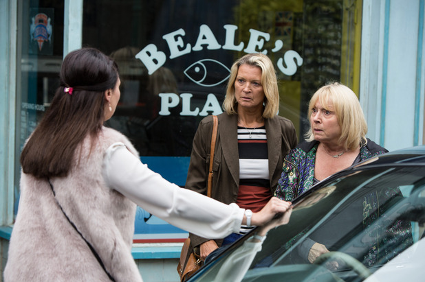 EastEnders, Honey tries to persuade Pam not to go, Tue 4 Oct
