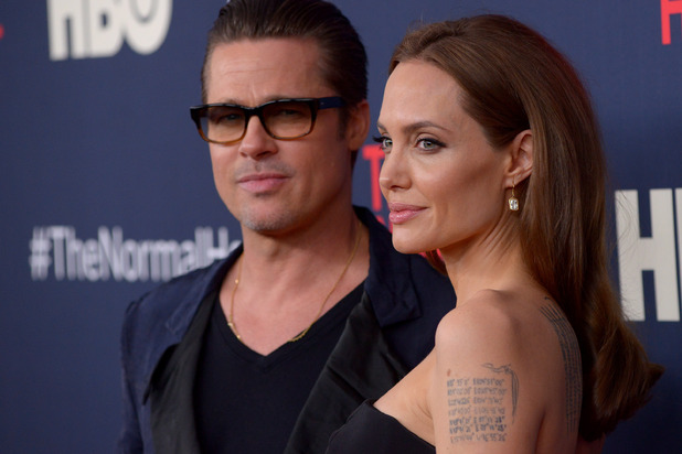 Brad Pitt and Angelina Jolie, The Normal Heart New York Premiere May 2014