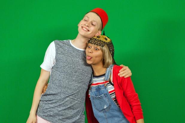 Hollyoaks, Alfie and Jade holiday snaps, Mon 3 Oct