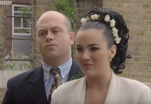 Tiffany and Grant in EastEnders, BBC