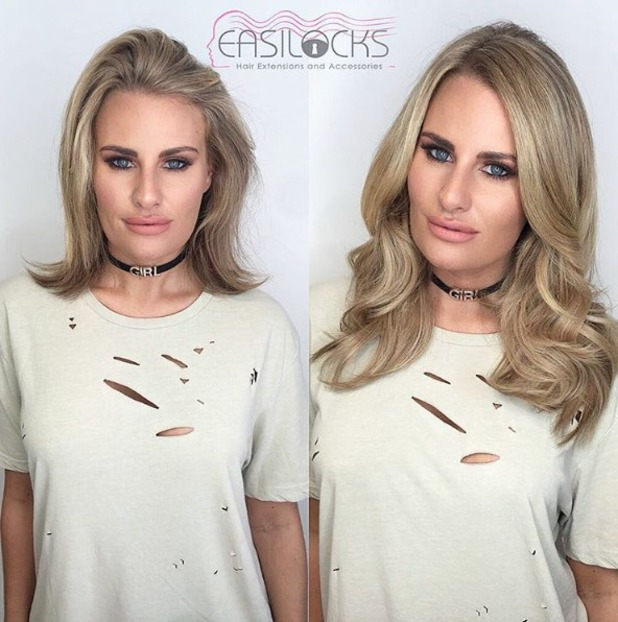 Danielle Armstrong lengthens her hair again with Easilocks extensions, by Shane O'Sullivan, 26 September 2016
