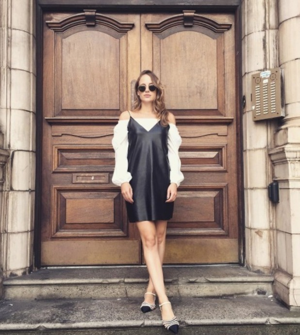 Rosie Fortescue, monochrome outfit, Missy Empire, 26 September 2016