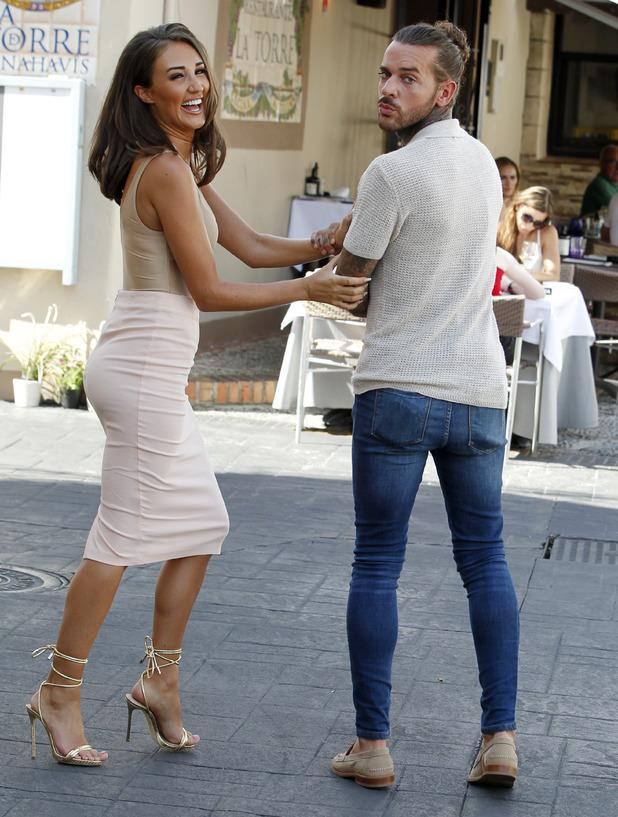 Megan McKenna and Pete Wicks, Marbella 26 September