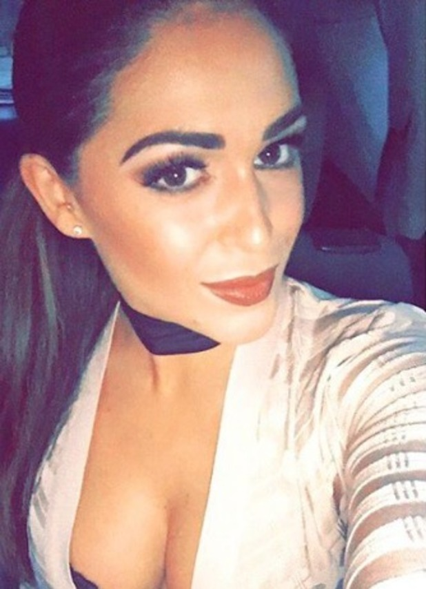 Casey Batchelor, selfie, make-up by Connie Simmonds, 20 September 2016