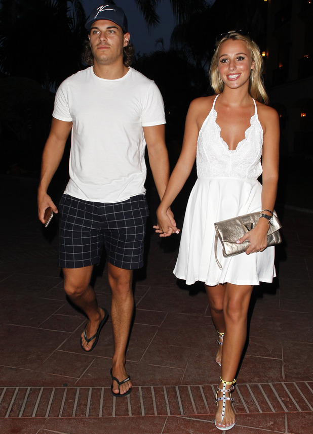 Amber Dowding and Chris Clark in Marbella 25 September
