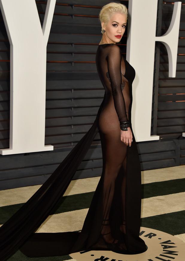 Rita Ora at the Vanity Fair x Oscars party, London, 20 February 2015
