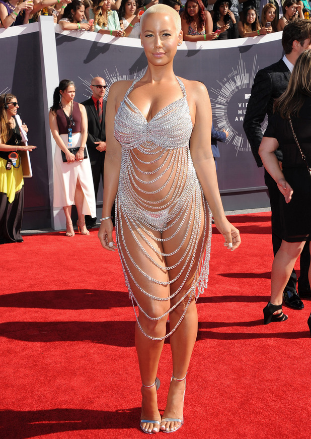 Amber Rose at the MTV Awards 26 August, 2014