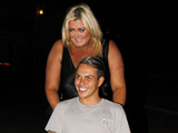 Gemma Collins and Bobby Norris in Marbella 23 September