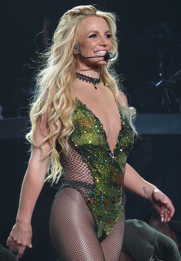 Britney Spears during the residency show Britney: Piece of Me at The AXIS auditorium located in the Planet Hollywood Resort & Casino. Las Vegas, 22nd June 2016 ( Photo by Marco Piraccini\Archivio Marco Piraccini\Mondadori Portfolio via Getty Images)