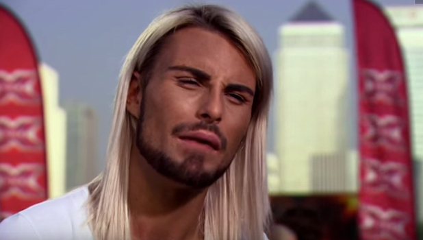 Rylan Clark auditions for X Factor in 2012