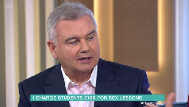 This Morning: Eamonn and Ruth interview Kat Lee about giving sex lessons to students 30 September 2016