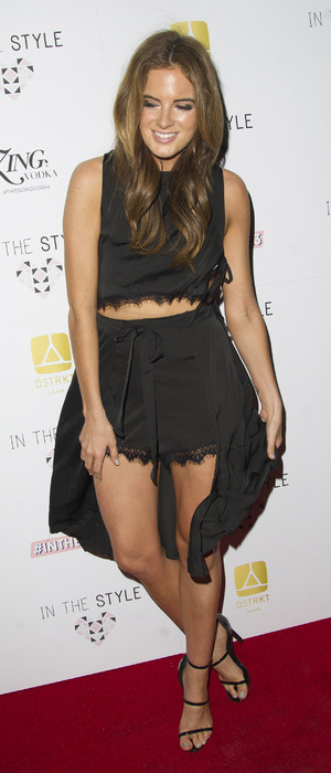 Binky Felstead at In The Styles 3rd birthday party, London, 6 October 2016