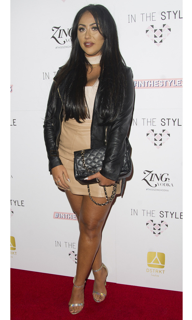 Geordie Shore star Sophie Kasaei at the In The Style launch party, London 6 October 2016