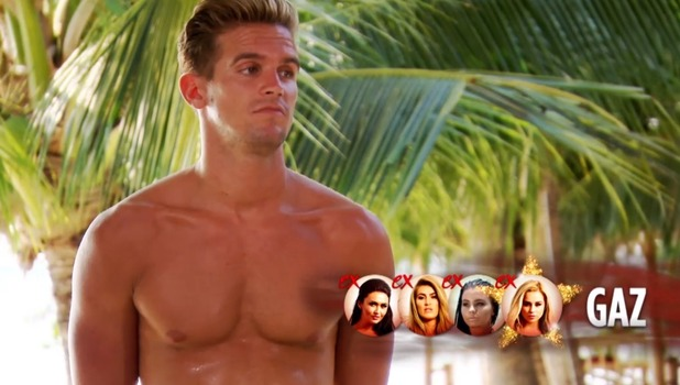 Lillie Gregg finds out Gaz Beadle has cheated on her again, Ex On The Beach 6 October