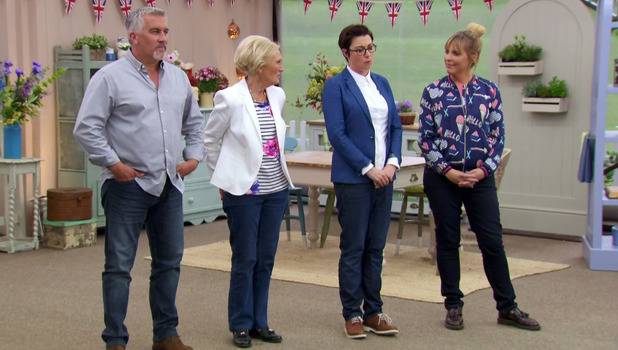 Great British Bake Off: Mary Berry, Paul Hollywood, Mel Giedroyc and Sue Perkins 21 September