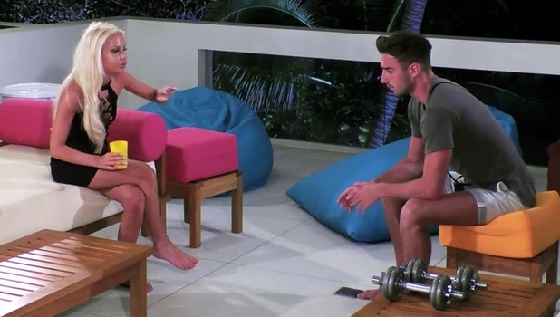 Holly Rickwood and Conor Scurlock, Ex On The Beach 5 October