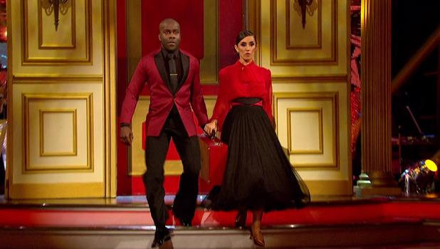 Melvin Odoom and Janette Manrara on Strictly Come Dancing 5 October