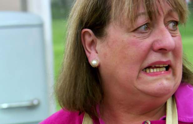 Maria Campbell forgets to turn oven on in Bake Off - 12 Aug 2015