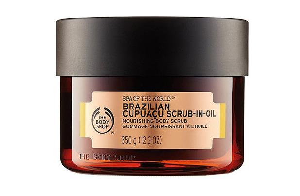 The Body Shop Brazillian Cupuacu Scrub-In-Oil £20, 4 October 2016